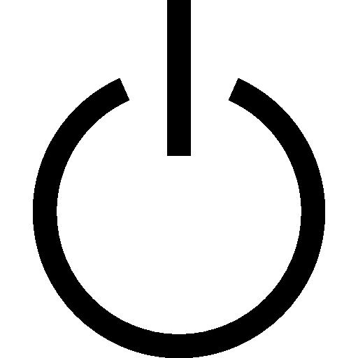 نماد پاور خاموش و روشن