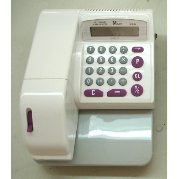 دستگاه پرفراژ چک برقی