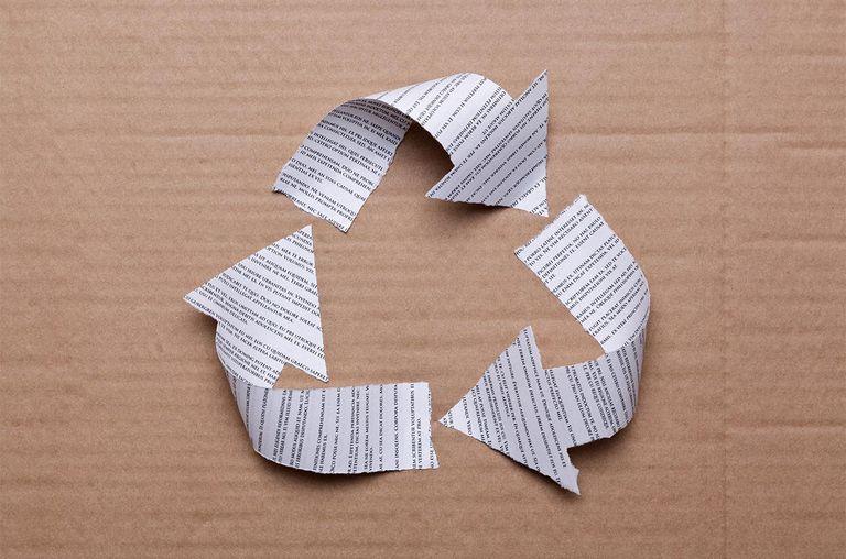 بهترین تعریف کاغذ بازیافتی