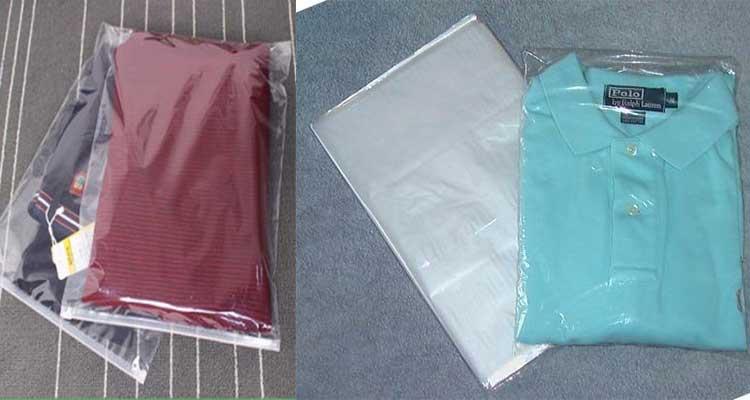 بسته بندی پوشاک در نایلون