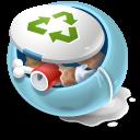 نماد و ایکن زباله یا سطل زباله طرح جدید