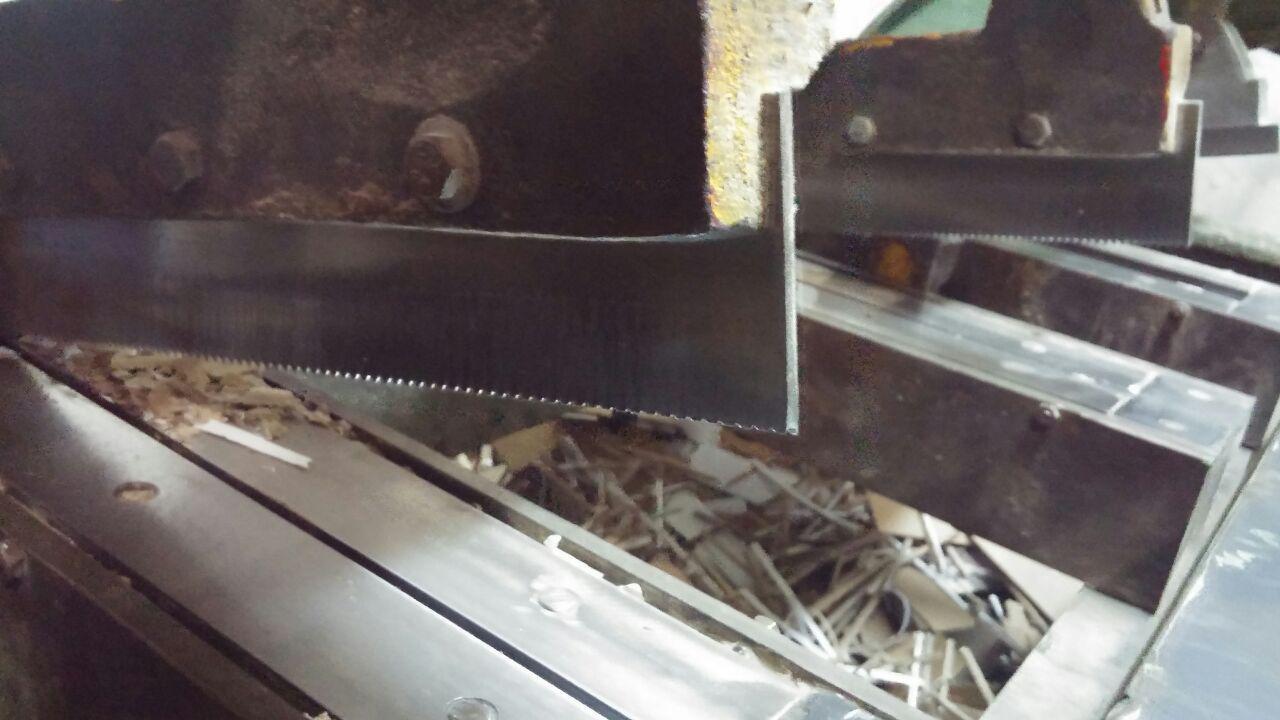 تیغه های پرفراژ شده دستگاه چاک زن
