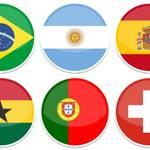 وکتور پرچم های کشورهای مختلف