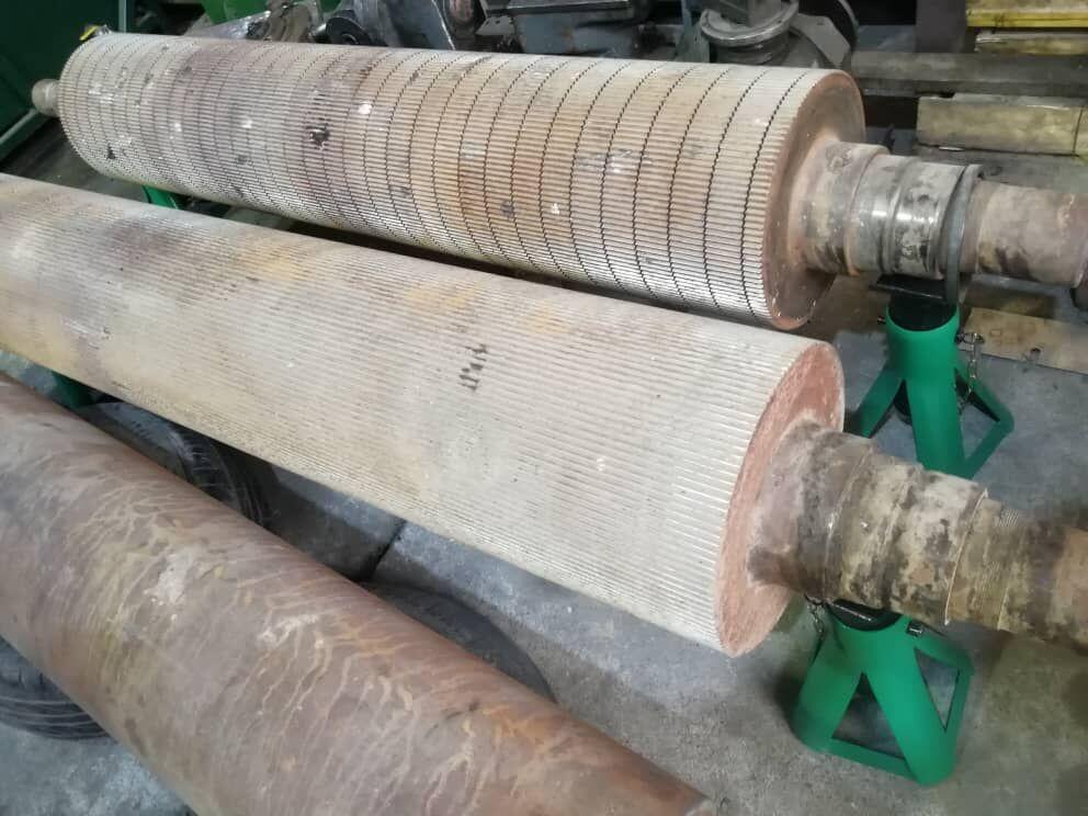 ساخت دستگاه سنگزنی غلطکهای کنگره