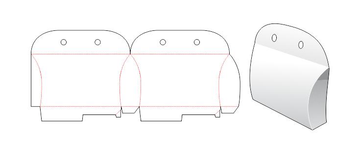 دانلود رایگان قالب جعبه طرح کیف